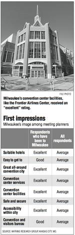 Milwaukee scores high  with meeting planners