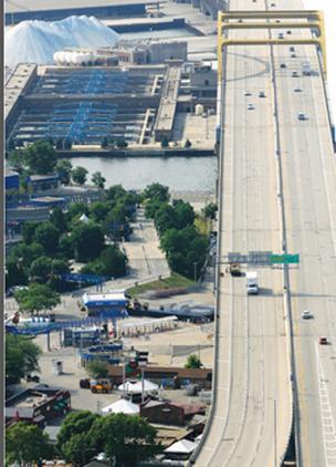 The state is scheduled to collect construction bids for the rehab of the Hoan Bridge in September 2013.
