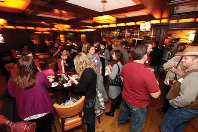 The new networking group, #MKEfoodies, met up at Mason Street Grill in downtown MIlwaukee Jan. 25.
