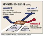 Mitchell proposes closing one concourse