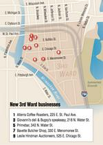 Trendy scene: Milwaukee's 3rd Ward regaining momentum as leasing heats up