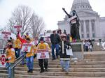 Federal court strikes down part of Walker union law