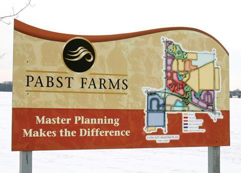 Pabst Farms has announced the addition of a Walmart Supercenter and a Sam's Club.