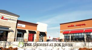 Opus Development has landed several tenants for the second phase of the Shoppes at Fox River.