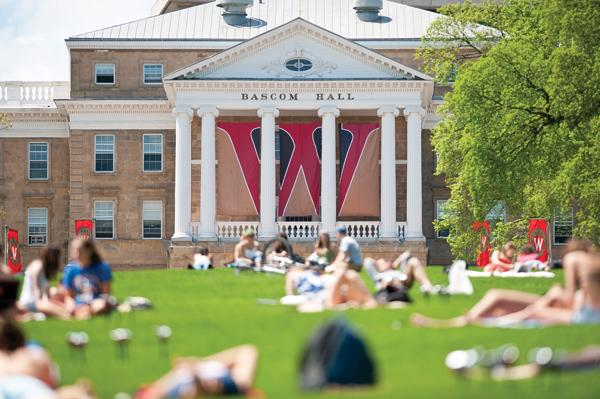 The University of Wisconsin-Madison ranks fourth for research spending among the top U.S. research universities.