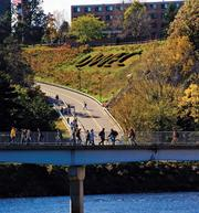 # 12 University of Wisconsin - Eau Claire Starting Median Salary: $41,500 Mid-Career Median Salary: $70,200 More information on this school