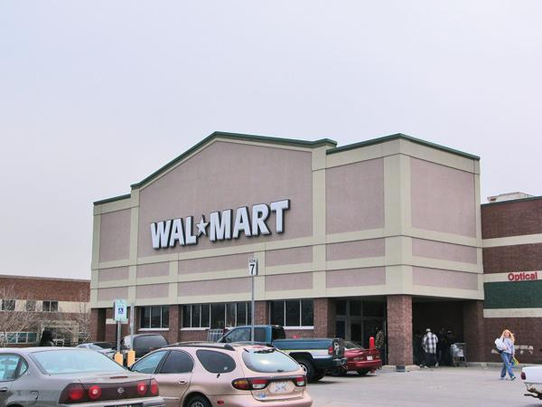 The New Berlin Walmart store was proposed in December.