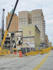 Construction is under way for a 200-room Marriott, to open in downtown Milwaukee in late 2013.