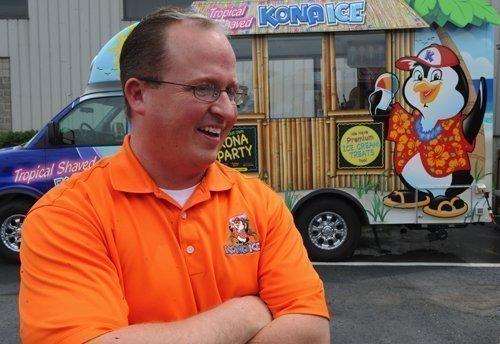 Tony Lamb, CEO of Kona Ice, is adding experienced franchisees through the company's internship program.