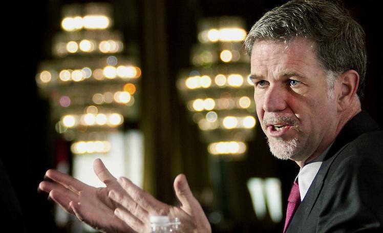 Want to know how Netflix is doing? Head to CEO Reed Hastings' Facebook page and find out.