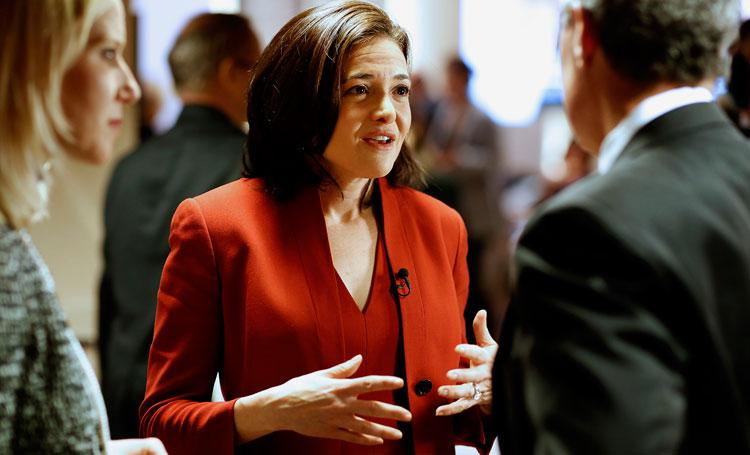 "Sheryl Sandberg's book, ""Lean In: Women, Work and the Will to Lead,"" comes out in March."