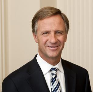 "Tennessee Gov. Bill Haslam said the Affordable Care Act ""does nothing to solve the crisis of the cost of health care in America."""