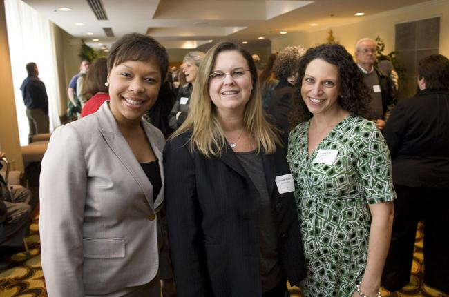 Jessica Patrick, Elizabeth Washko and Jennifer Rusie