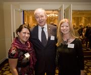 Courtenay Rogers, Franklin Mayor Ken Moore and Stephanie Taylor