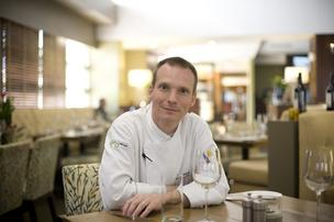 Charles Phillips, executive chef of 1808 Grille at the Hutton Hotel.