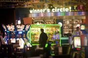 Dave and Buster's during last November's reopening.