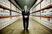 Stephen Richards, president and CEO of Richards & Richards Office Records Management.