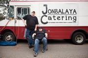 """Jon and Holly Heidelberg love food and have always loved  cooking. The co-owners of Jonbalaya Catering have been catering for 15  years but jumped into the food truck business in February 2011.  Investors wanted to build a restaurant to highlight his culinary craft,  but """"it'd put me too far from family,"""" Jon said. Launching the truck  allowed the family to work together. """"It's definitely not because  we're getting rich, (but) because we have a lot of love,"""" he said."""