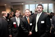 Daniel Sheppard, left to right, Mike Finlin and Matt Chambers.