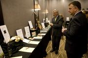 The gala's silent auction.