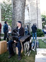 """Crews filmed the fifth episode of """"Nashville,"""" not counting its pilot, at Cheekwood Monday."""