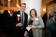 Robert Riggar of Suntrust Bank and Mary Alice Yates of YMCA of Middle