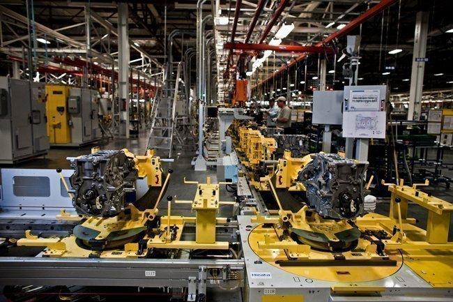 Inside General Motors' Spring Hill plant.