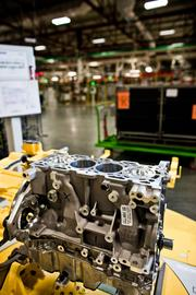 An engine at GM's Spring Hill plant.