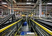 A robotic assembly line at GM's Spring Hill plant.