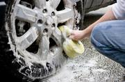 6. Shine their wheels. Once a month have everyone's car washed on-site by a mobile wash company.