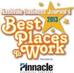 2013 Best Places to Work honorees named