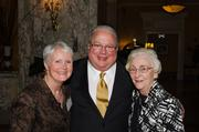 On Nov. 8, the downtown law firm Cornelius & Collins celebrated its 70th anniversary at The Hermitage Hotel. Cornelius & Collins' partners and employees and Nashville lawyers, doctors and judges were among the party attendees.  Pictured: Betty Magee, from left, Tom Carlton and Ernestine Hilley