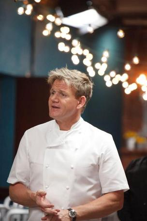 "Chappy's on Church chef John ""Chappy"" Chapman said he'd be fine if the episode of ""Kitchen Nightmares"" featuring his restaurant never airs. Pictured: ""Kitchen Nightmares"" host Gordon Ramsay."