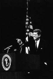 "John F. Kennedy, 1960: ""High Hopes,"" by Frank Sinatra."
