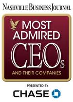 Nashville's Most Admired CEOs finalists announced