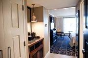 Inside an Omni Nashville Hotel room.