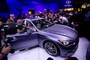 The 2014 Infiniti Q50, revealed at this week's North