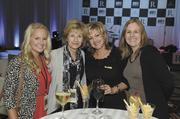 From left, Tracy Ziskovsky and Barbara Berger of AmSurg, with Becky Price and Laurie Garzon of the Renaissance Nashville.
