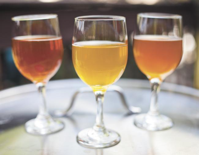 Samples of Tennessee Brew Works' offerings. Check out this slideshow to learn more about Nashville's brewers and their beer.