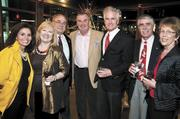 Amber Crowe, from left, Suzan Hindman, Michael Hindman of H. Michael Hindman Architects, Nelson Crowe, Michael Baron, Tom Tucker of the city of Goodlettsville and Janet Tucker.