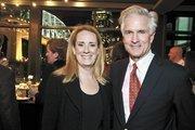 Sheila Dial, architect for The Bridge Building/EOA, and Michael Baron