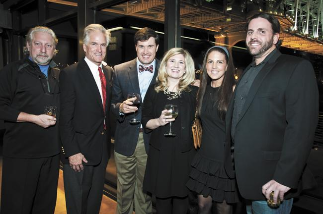 On Dec. 14, Baron Construction celebrated 25 years in business at an event at the Bridge Building (2 Victory Ave.) by the Cumberland River and LP Field, a project that Baron built.About 150 guests attended, including Mayor Karl Dean and Nashville-area business and community leaders. Pictured here: Ira Blonder of The Blonder Group, from left, Michael Baron of Baron Construction, Greenlee Flanagin, Annie Flanagin of Baron Construction, Mimi Mayo and Nathaniel Beavers of Infinity Restaurant Group.