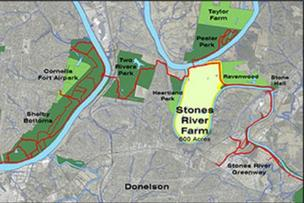 Purchasing about 600 acres for a new park in Donelson will cost Nashville $8.2 million.