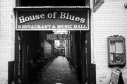 Outside the House of Blues in New Orleans.