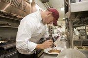 Chef Morris at work.