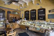 Inside Provence Breads and Café.