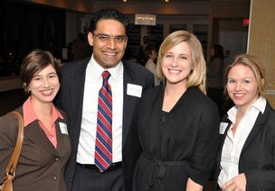Laura McCoy of Tolleson McCoy; Mohammad Syed of Syed Law Firm; Sarah Laird of Bradley Arant Boult Cummings; Ansley Tolleson of Tolleson McCoy