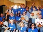 HCA's volunteer group and Progress clients.