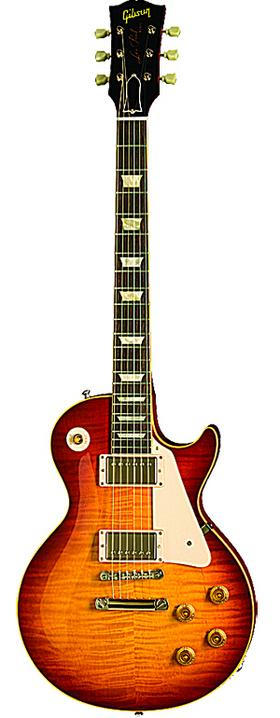 A Gibson Les Paul guitar