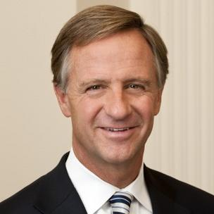 Tennessee Gov. Bill Haslam.